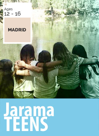 summer camp in nature in madrid for teenager